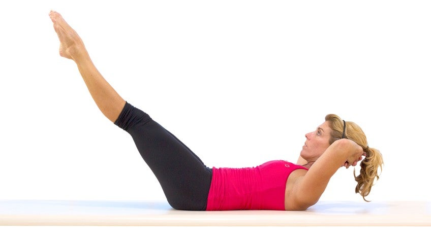 Pilates Mat Exercise: Rolling Like a Ball