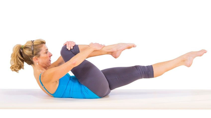 Single Leg Stretch with Amy Havens - Exercise 1429