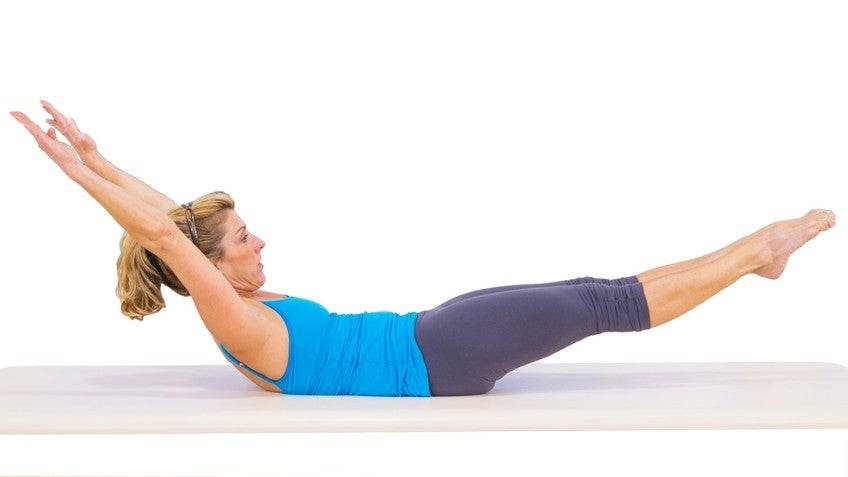 double leg stretch with amy havens exercise 1430