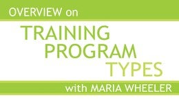 Pilates Teacher Training Program Types