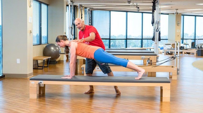 Rael Isacowitz Pilates Teacher
