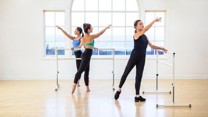 Ballet Barre Workout Image